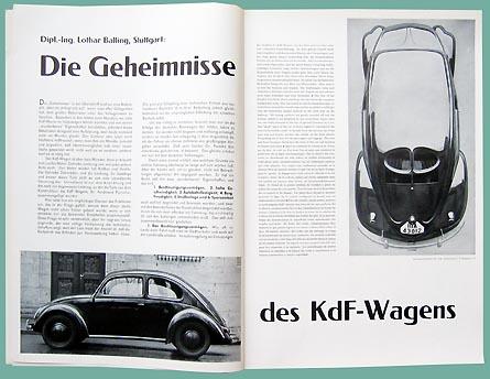 Motor Schau February 1939 With Kdf Car Secrets