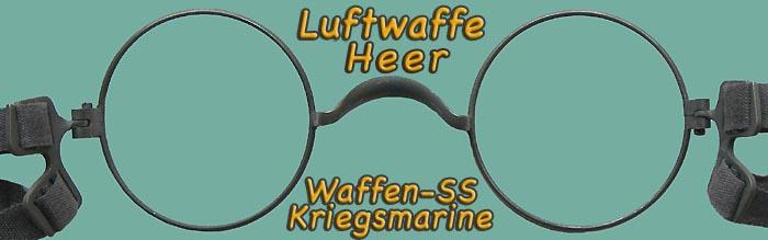 Nos Wehrmacht Maskenbrille Or Eyeglass Frames
