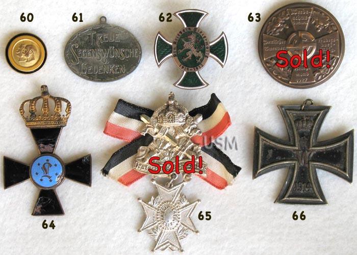 Pre-Nazi Pins, Nazi Badges, Nazi Medals