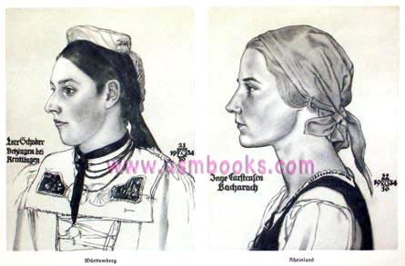 Ideal Aryan Woman Nazi Wolf Willrich Por...